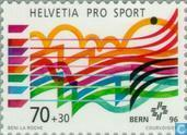 Postage Stamps - Switzerland [CHE] - Sports Help