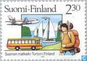 Postzegels - Finland - Toerisme
