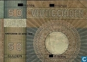 Billets de banque - Minerva - 1929 50 florins néerlandais