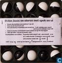 Board games - Boter Kaas en Eieren - Boter kaas en eieren met spek en ui