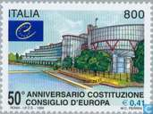 Postage Stamps - Italy [ITA] - Council of Europe 50 years