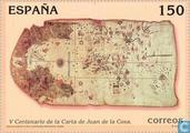 Timbres-poste - Espagne [ESP] - Carte Amérique du Nord 1500-2000