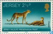 Timbres-poste - Jersey - Animaux