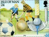 Postage Stamps - Man - Tourism