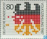 Postage Stamps - Germany, Federal Republic [DEU] - Census