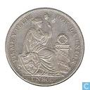 Monnaies - Pérou - Pérou 1 Sol 1895