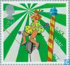 Postage Stamps - Great Britain [GBR] - Europe – The Circus