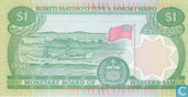 Bankbiljetten - West-Samoa - 1980-84 ND Issue - West-Samoa 1 Tala ND (1980)