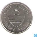 Österreich 5 Schilling 1978