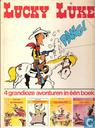 Comic Books - Lucky Luke - 4 grandioze avonturen in één boek