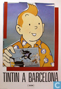 Affiches en posters - Strips - Tintin à Barcelona