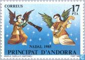 Postage Stamps - Andorra - Spanish - Angels