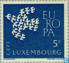 Postage Stamps - Luxembourg - Europe – Flying Pigeons