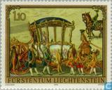 Briefmarken - Liechtenstein - Gemälde