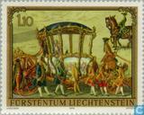 Postzegels - Liechtenstein - Schilderijen