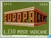 Postage Stamps - Vatican City - Europe – Temple