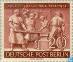 Briefmarken - Berlin - August Borsig