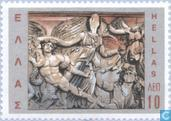 Postage Stamps - Greece - Struggle for civilization