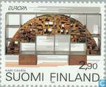 Postage Stamps - Finland - Europe – Contemporary art