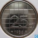 Münzen - Niederlande - Niederlande 25 Cent 1986