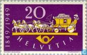 Postage Stamps - Switzerland [CHE] - Postjubleum 100 years