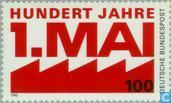 Postage Stamps - Germany, Federal Republic [DEU] - Labor Day 1890-1990