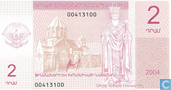 Bankbiljetten - Nagorno-Karabakh - Nagorno Karabach 2 Dram