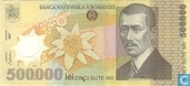 Banknotes - Romania - 2000-2004 Polymer Issue - Romania 500.000 Lei 2000