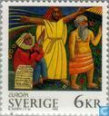 Postzegels - Zweden [SWE] - Europa – Vrede en vrijheid