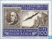 Jubilé USA Stamp