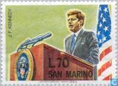 Postage Stamps - San Marino - Kennedy, John F.