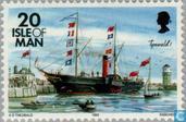 Briefmarken - Man - Schiffe