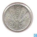 Coins - Uruguay - Uruguay 20 centésimos 1954