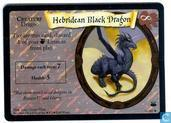 Cartes à collectionner - Harry Potter 3) Diagon Alley - Hebridean Black Dragon