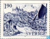 Postzegels - Zweden [SWE] - Gävle anno 1413