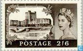 Timbres-poste - Grande-Bretagne [GBR] - Elizabeth II et châteaux