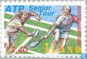 Postage Stamps - Åland Islands [ALA] - ATP seniors tennistournooi