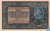 Pologne 100 Marek 1919