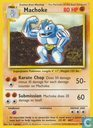 Trading cards - English 1999/2000-01-09) Base Set (Unlimited) - Machoke