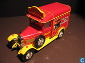 Model cars - Matchbox - Morris Light 'Coca-Cola'