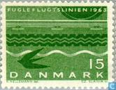 "Postage Stamps - Denmark - Inauguration of the ""Vogelfluglinie"""