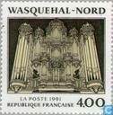 Postzegels - Frankrijk [FRA] - Orgel van Wasquehal