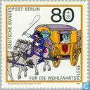 Timbres-poste - Berlin - Histoire de la poste