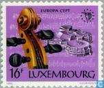 Postzegels - Luxemburg - Europa – Jaar van de muziek