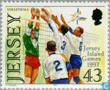 Timbres-poste - Jersey - Sport