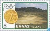 Postage Stamps - Greece - Olympic Games- Moskou