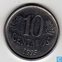 Brasil 10 Centavo 1995