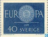 Timbres-poste - Suède [SWE] - Europe – Roue à rayons