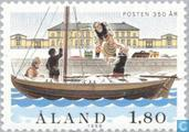 Postage Stamps - Åland Islands [ALA] - 350 years of postal service