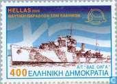 Postzegels - Griekenland - Marine